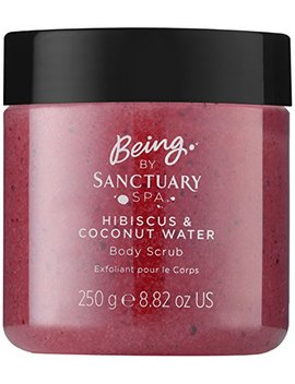 Being By Sanctuary Spa Hibiscus And Coconut Water Body Scrub, 250 G by Being By Sanctuary Spa