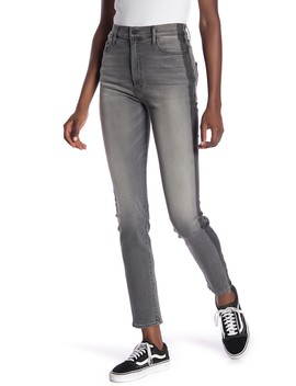 The Swooner High Waist Skinny Jeans (Supermoon) by Mother