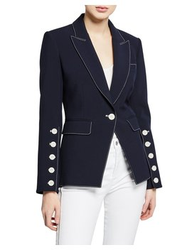 Steele Single Button Dickey Jacket by Veronica Beard