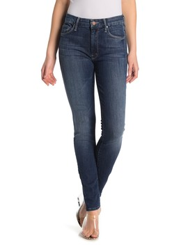 The Looker High Waist Skinny Jeans by Mother