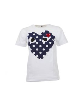 Comme Des Garcons Play Tshirt With Heart by Comme Des Garçons Play