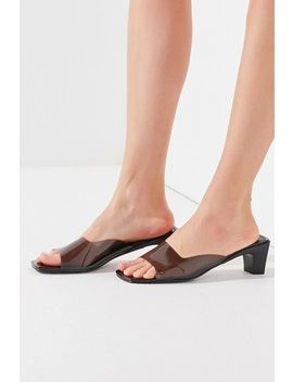 Uo Chrissy Clear Mule Sandal by Urban Outfitters