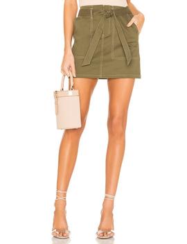 Marina Contrast Stitch Skirt by Superdown
