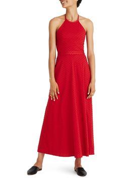 Halter Tie Back Midi Dress by Madewell