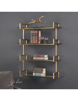 Uttermost Auley Gold Wall Shelf by Uttermost