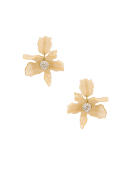 Small Crystal Lily Earring by Lele Sadoughi