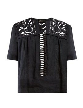 Gane Broderie Anglaise Voile Blouse by Isabel Marant