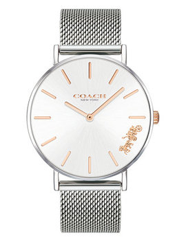 Women's Perry Created For Macy's Stainless Steel Mesh Bracelet Watch 36mm by Coach