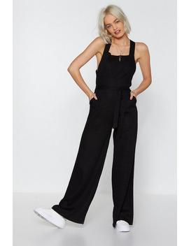Jump The Queue Wide Leg Jumpsuit by Nasty Gal