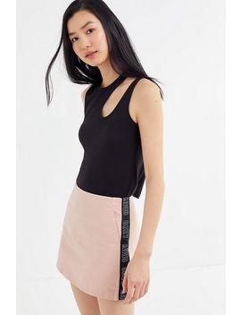 Obey Noa Side Tape Mini Skirt by Obey