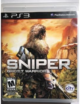 Sniper: Ghost Warrior For Playstation 3 Ps3 by Ebay Seller