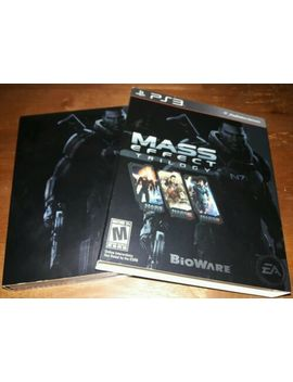 Ps3 Mass Effect Trilogy Set Video Game Playstation 3 by Ebay Seller