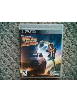 Back To The Future: The Game   Ps3 by Ebay Seller