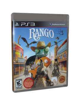 Rango   Kids Cartoon   Ps3 by Ebay Seller