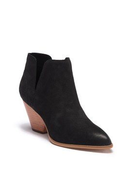 Reina Leather  Cutout Bootie by Frye