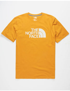 The North Face Half Dome Gold Mens T Shirt by The North Face