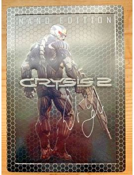 Crysis 2 Nano Edition Steelbook Pc & Art Book Hardcover W/ Jacket Both Signed! by Ebay Seller