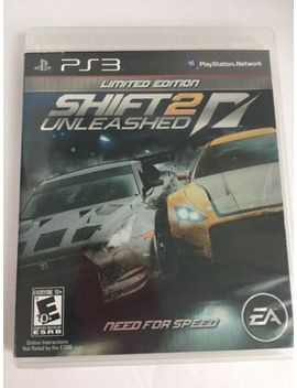 Ps3 / Shift 2 Unleashed    Limited Edition   Complete W/Manual/ Ships Fast by Ebay Seller