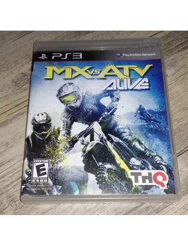 Mx Vs. Atv Alive (Sony Play Station 3, 2011) Complete by Ebay Seller