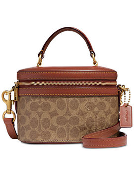 Coated Canvas Signature Trail Bag by Coach