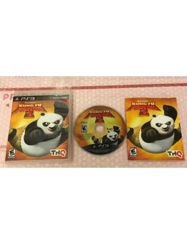 Complete Kung Fu Panda 2 (Sony Play Station 3 2011) Cib Dreamworks Ps3 Video Game by Ebay Seller