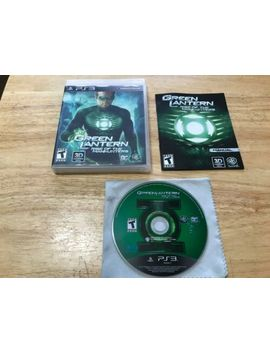 Green Lantern Rise Of The Manhunters Sony Playstation 3 Ps3 System Complete Game by Ebay Seller