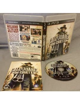Call Of Juarez: The Cartel  (Sony Playstation 3, 2011)Complete by Ebay Seller