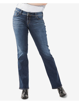 Plus Size Suki Slim Boot Cut Jeans by Silver Jeans Co.
