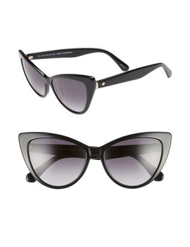 Karina 56mm Cat Eye Sunglasses by Kate Spade New York