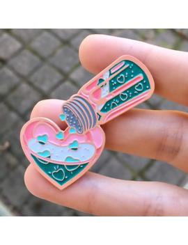 Heart Shaker Enamel Pin Twice Kpop by Etsy