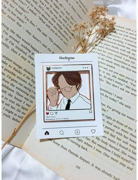 Heechul Instagram Enamel Pin by Etsy