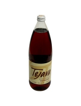 Tejava Unsweetened Premium Iced Tea   33.8 Fl Oz Glass Bottle by Tejava