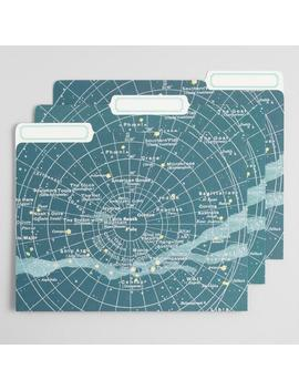 Celestial File Folders Set Of 12 by World Market