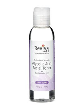 Professional Strength Glycolic Acid Facial Toner by Reviva Labs