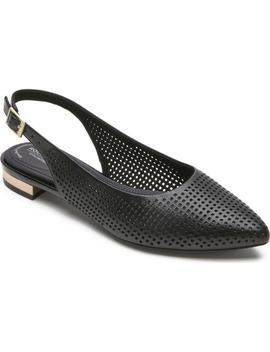 Adelyn Perforated Slingback Flat by Rockport