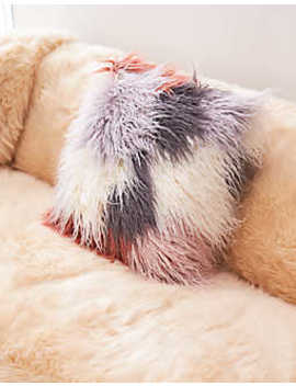 Aeo Apt Multi Faux Fur Pillow by American Eagle Outfitters