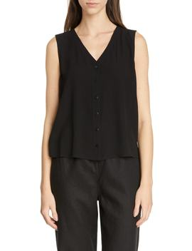 Sleeveless Silk Top by Eileen Fisher