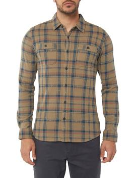Fisher Plaid Knit Shirt by O'neill