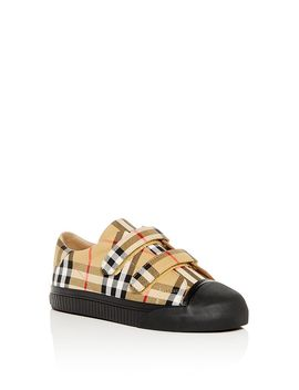 Unisex Vintage Check Sneakers   Toddler, Little Kid by Burberry