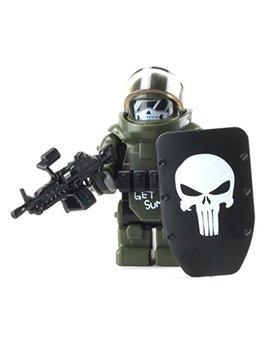 Battle Brick Custom Juggernaut Army Assault Soldier (Sku81) Custom Minifigure by Battle Brick