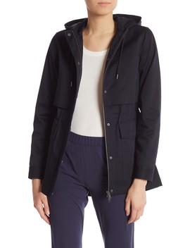 Perfect Hooded Parka by Theory