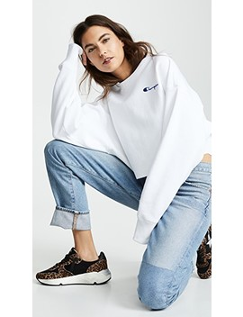 Cropped Sweatshirt by Champion Premium Reverse Weave