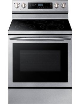 5.9 Cu. Ft. Self Cleaning Freestanding Electric Convection Range   Stainless Steel by Samsung