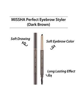 Missha Perfect Eyebrow Styler Dark Brown by Missha