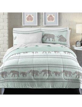 Boho Elephant Comforter Set by Loft Style