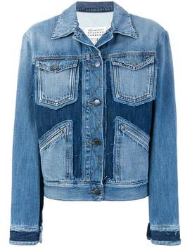 Deconstructed Denim Jacket by Maison Margiela