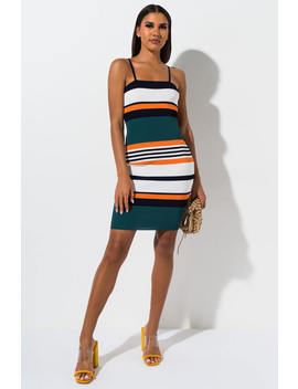 Where We Are From Bodycon Midi Dress by Akira