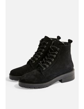Brake Lace Up Boots by Topshop