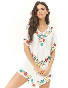 Multicolor Crochet Tunic by Forever 21