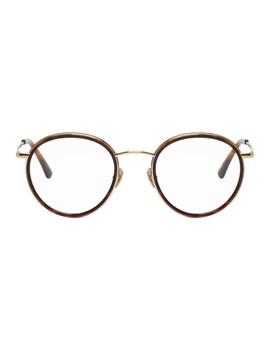 Tortoiseshell Slipway Glasses by Belstaff